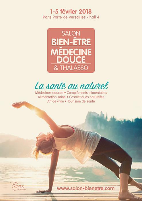 ffiche salon Bien-être, Médecine douce et Thalasso Paris