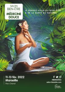 Affiche du salon Bien-Être Médecine douce Marseille 2022