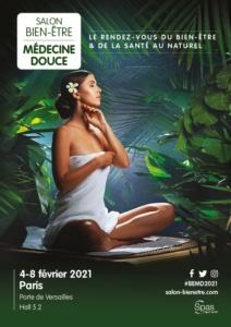 Affiche du Salon Bien-Être Médecine Douce Paris 2021